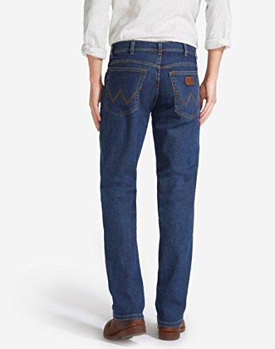 Wrangler - Texas Stretch - Jeans - Homme Bleu (Blue Blue)