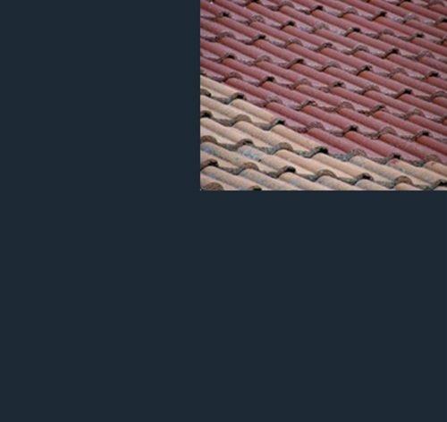 1L Ziegelfarbe Dachfarbe Dachbeschichtung Dachversiegelung in Anthrazitgrau Dachrenovierung Metalldach Blechdach Flachdach Farbe Beschichtung Anstrich Ziegel Dach