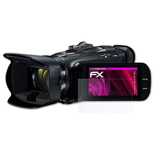 3X Rivestimento antiriflesso HD FX Protettore Schermo atFoliX Pellicola Proteggi compatibile con Canon Legria HF G50 Protezione Pellicola dello Schermo