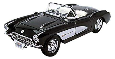 Maisto - 31275bk - Chevrolet - Corvette 1957 - Échelle 1/24
