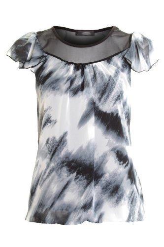 Fantasia -  T-shirt - Maniche corte  - Donna Black / White Print