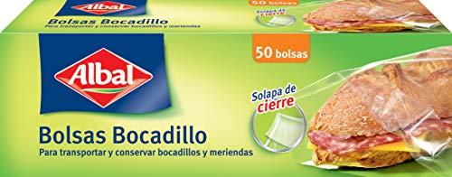 Albal Bolsas Bocadillo Scalpa Cierre - 50 Bolsas