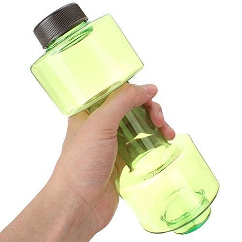 MaMaison007 550ml manubri a forma di Sport Viaggi bottiglia della bevanda Fitness Gym Esercizio Coppa bottiglia di acqua