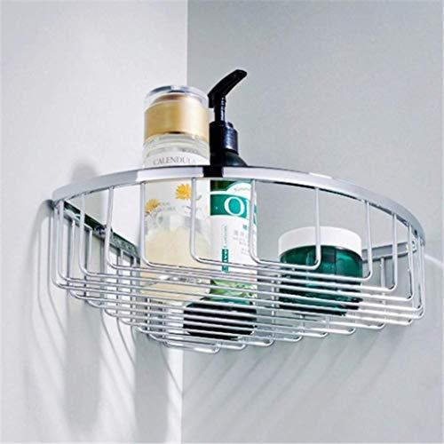 YJLGRYF Handtuchhalter Edelstahl Badezimmer Regale 2 Tier Dusche Shampoo Seife Kosmetik Regale Bad-Accessoires Speicherorganisator Rack-Halter Badezimmer Halterung (Size : #1) (Dusche Seife Rack)