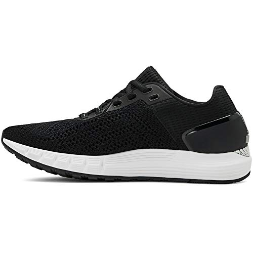 Under Armour Damen UA W HOVR Sonic 2 Laufschuhe, Schwarz (Black/White/White (003) 003), 39 EU