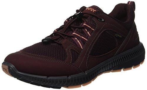 Ecco Damen Terracruise II Sneaker, Rot (Wine Muted Clay 51187), 41 EU