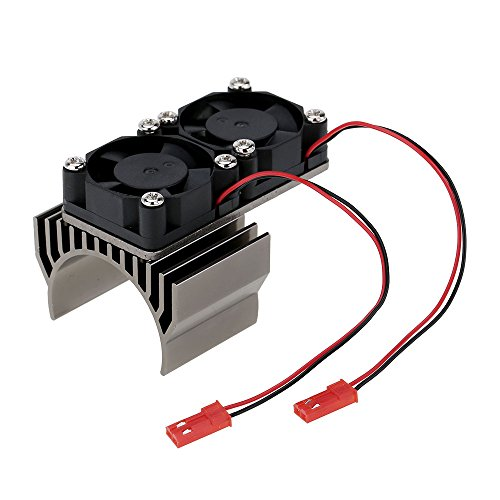 540/550 Disipador Calor Motor Doble Ventilador Refrigeración