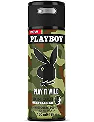 Playboy PLAY IT WILD Déodorant Skintouch pour lui 150 ml