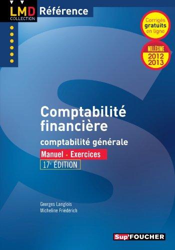 Comptabilité financière 17e édition Millésime 2012-2013