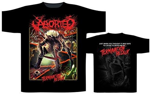 ABORTED TERMINATION REDUX T-Shirt Schwarz