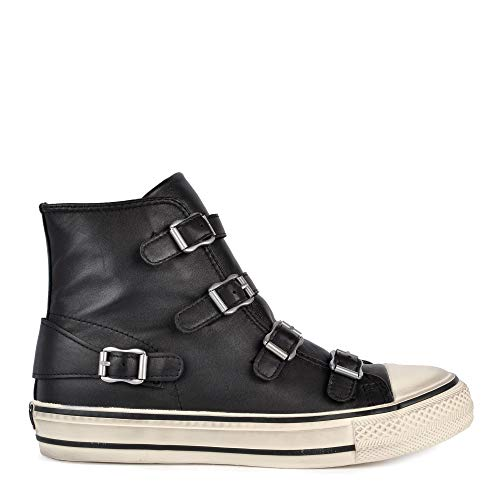 ASH Damen Natives High Top-Trainer UK 6 Black