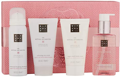 RITUALS The Ritual of Sakura Geschenkset klein, Renewing Treat - Freuden Rose Duschgel
