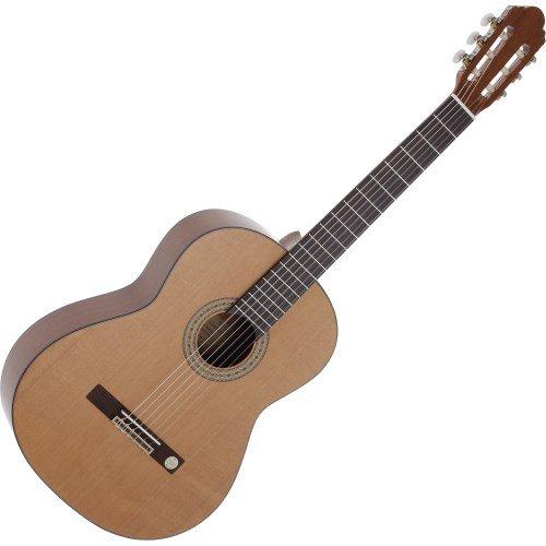 4//4 Klassik-Gitarre rot matt