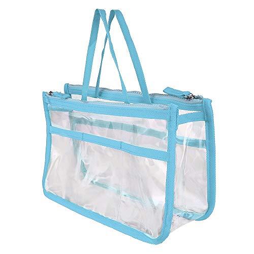 Dtuta Neu Damen Tragbare Kosmetische Aufbewahrungstasche Wasserdicht Transparent GroßE KapazitäT Kosmetiktasche