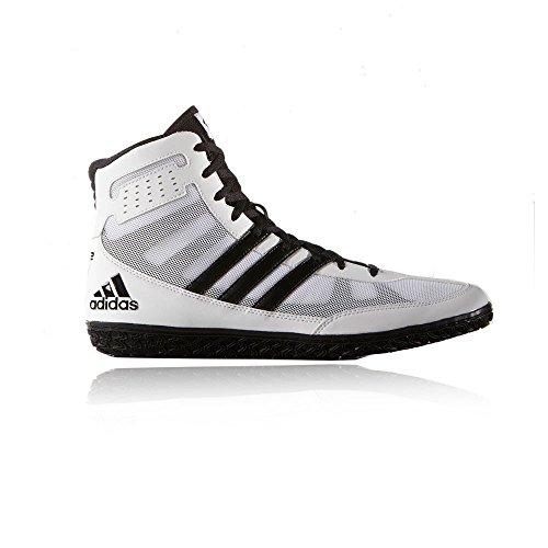 Adidas Asistente 3 negro y blanco de la estera UK 9.5 - EU 44