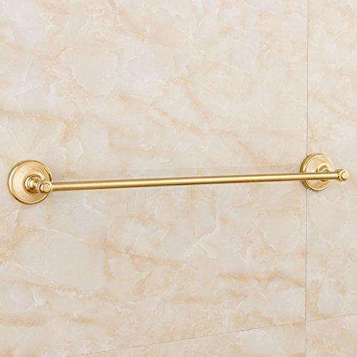 LHbox Tap Messing vergoldet Natürliche Jade Handtuchhalter Bad Gold Antik Einhebelsteuerung, Handtuchhalter, Licht Luxus Wong Yuk - Licht Messing Antik Bad Möbel
