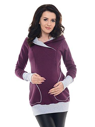 Stylischer Umstands Pullover mit Kapuze n verschiedenen Farben