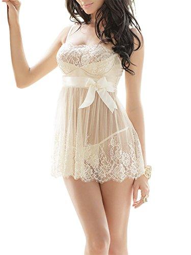 Fasicat pijama Sexy Lace vestido de noche Chemise Hot Novelty Nighty lencería...