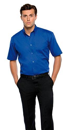KK109–Corporate Kustom Kit Oxford Chemis'à manches courtes pour homme Coloris Set A Bleu - Light Blue*