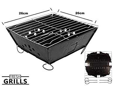 Fresh Grills – klapp- und tragbarer Holzkohlegrill