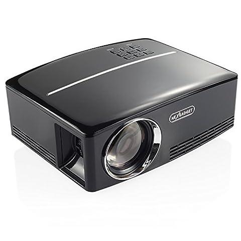 NEXGADGET Mini Beamer, GP80 SERIE 1800 Lumen LCD Video Projektor