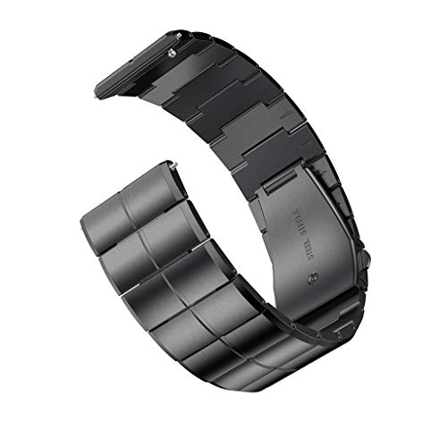 Streng Sivel Armband Elegant Apple Watch 38mm Edelstahlarmband Gliederarmband Schwarz Verschiedene Stile Zubehör