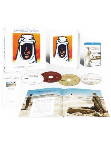 Lawrence d'Arabia(edizione tiratura limitata) [Blu-ray + CD + libro] [IT Import]