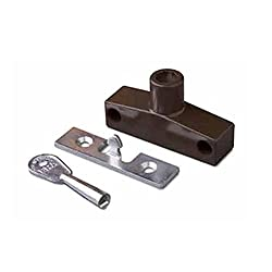 ERA 801-25 Snaplock for Wooden Windows - Brown, Keyed