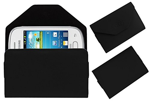 Acm Premium Pouch Case For Samsung Galaxy Star S5280 S5282 Flip Flap Cover Holder Black  available at amazon for Rs.349