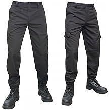 Amazon.fr   Pantalon Treillis Noir 79596eb5abaa