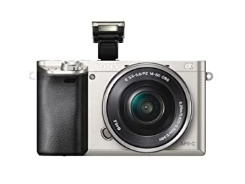 Sony Alpha A6000 Mirrorless Digital Camera With 16-50mm Lens Silver 5