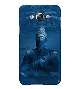 Fuson Designer Back Case Cover for Samsung Galaxy E7 (2015) :: Samsung Galaxy E7 Duos :: Samsung Galaxy E7 E7000 E7009 E700F E700F/Ds E700H E700H/Dd E700H/Ds E700M E700M/Ds (Gautama Buddha Siddhartha Gautama Shakyamuni Buddha Buddhism Buddhists munish tatharaj)