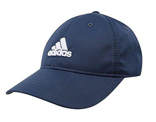 Adidas Kinder Flexible Peak Cap Hat Junior Touch und Close Riemen Marke New Blau navy Für Kinder