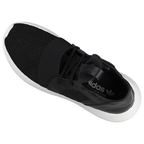 Damen Laufschuhe, farbe Schwarz , marke ADIDAS ORIGINALS, modell Damen Laufschuhe ADIDAS ORIGINALS TUBULAR DEFIANT W Schwarz Weiß-Schwarz