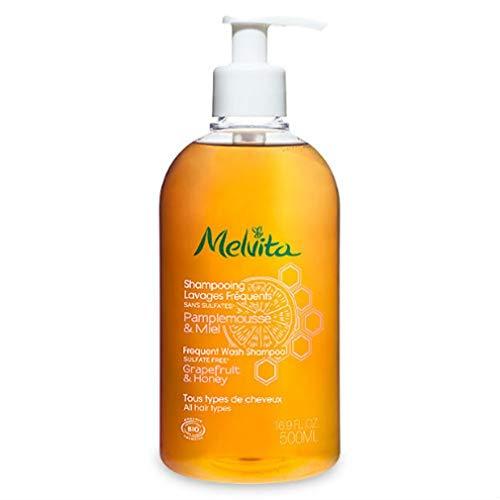 Melvita - Shampooing lavages fréquents Pamplemousse & Miel 500ml Bio - Lot De 2 - Prix Du Lot - Livraison Rapide En France Métropolitaine Sous 3 Jours Ouverts