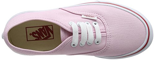 Vans  Uy Authentic, Sneakers Basses fille Rose (Hearts Tape Pink Lady/red)