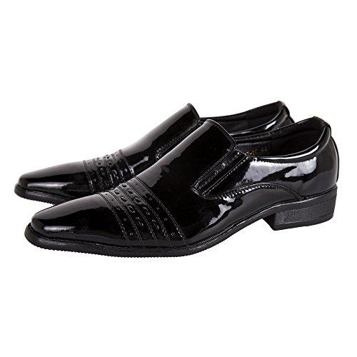 Robelli Homme Élégant Mariage / Travail Simili Cuir Verni Chaussures HQ817-10