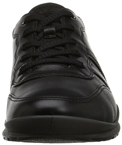 ECCO Scarpe Pelle Donna BLACK Nero(Black/Dark Shadow Met./Black 59266)