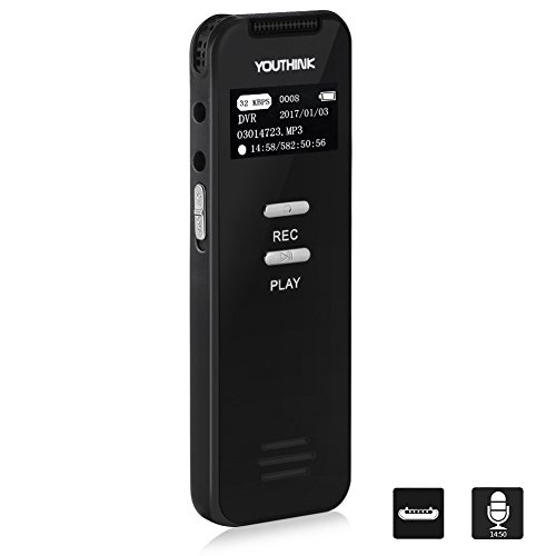 voice-activated-recorder-pocket-digital-voice-recorder-8gb-metallic-dictaphone-rechargeable-mp3-soun