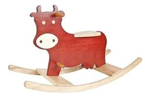 Animal à bascule vache grand modèle