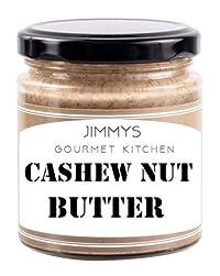 Jimmy's Gourmet Kitchen Cashew Nut Butter 410g Vegan Zero Oil Zero Sugar Added
