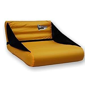 Mattini siège gonflable multifonction snowboard-jaune