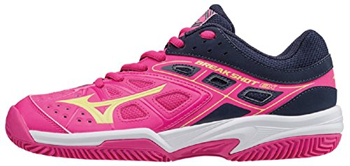 Mizuno Break Shot EX CC - Scarpe Tennis Donna - Women's Tennis Shoes - 61GC172645 (EU 38)