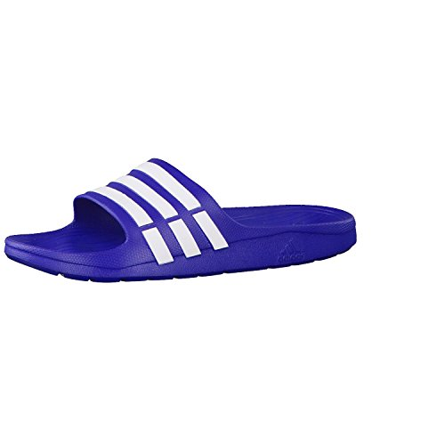 479559f13 Adidas g14309 Unisex Blue And White Duramo Slide Flip Flops - Best ...