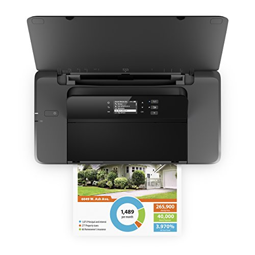 HP OfficeJet 200 Mobiler Tintenstrahldrucker - 6