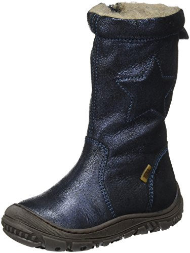 Bisgaard Unisex-Kinder Stiefel, Blau (611 Blue), 35 EU