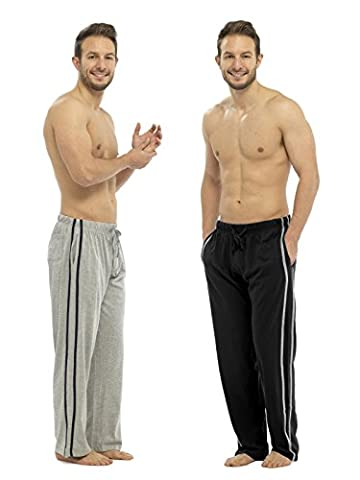 Mens Lounge Wear Trousers Tracksuit Bottoms Casual Sports Pants 2