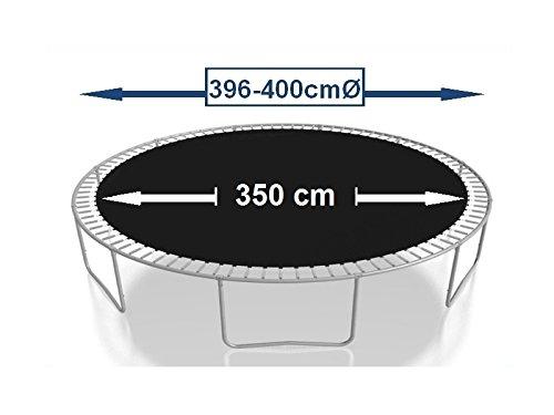 Sprungtuch Sprungmatte Ersatzteile für Trampolin Ø 396 cm 84 Ösen (Federn 16,5 cm) - 3
