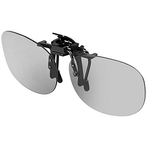 HCL® 3D Brillen Clip - Aufsatz für Brillenträger - passiv für 3D TV Kino