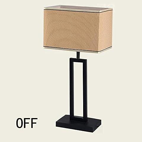 DDHS Modern Chinese Antique Lampada da tavolo Lampada da comodino camera da letto studio